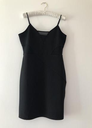 Платье в бельевом стиле с сеточками