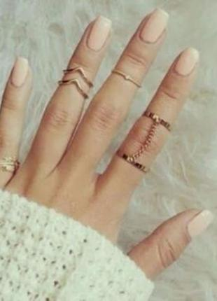 Кольца на фаланги пальцев набор anelli