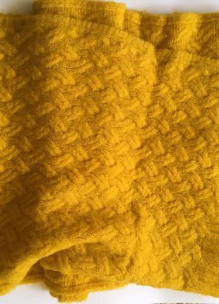 Шарф zara. длинные зимний шарф.