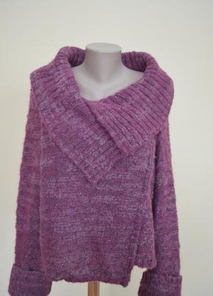 Шикарный теплый свитер мохер