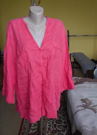 Блуза на 20 євро розмір 100 % льон marks&spencer