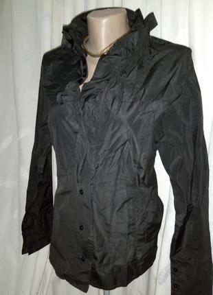 **first choice**нарядная блуза с эффектным воротником  uk16 пог-56см