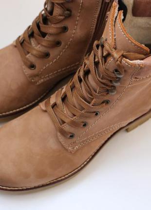 Ботинки tamaris натуральная кожа германия 40