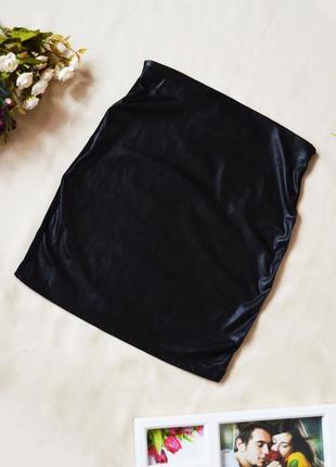 d54fad94491 Кожаные юбки карандаш 2019 - купить недорого вещи в интернет ...
