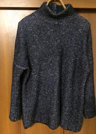 Очень тёплый объемный свитер