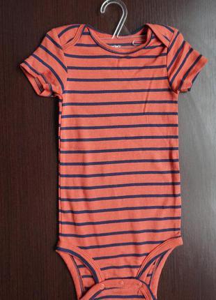 Детский бодик carter's размер 12 на 12 месяцев (на 1 годик)
