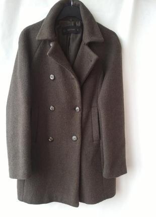 Модное пальто oversize от zara размер s