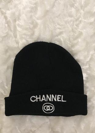 Стильная тёплая шапка