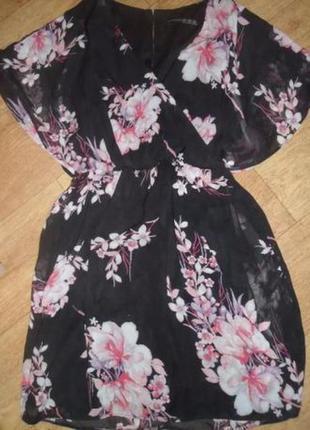 Нежное платье в цветы бренд atmosphere