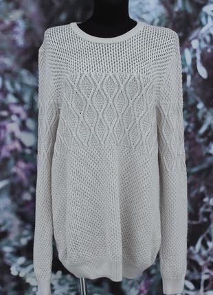 Молочный свитер asos
