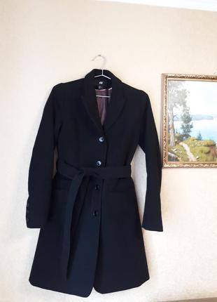 Пальто весенне осеннее,  демисезонное, кашемировое, классика