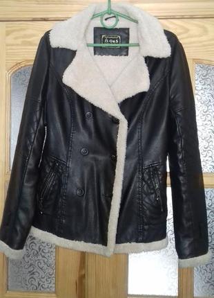 Куртка на меховой подкладке
