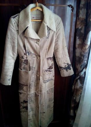 Дубленка/пальто женское