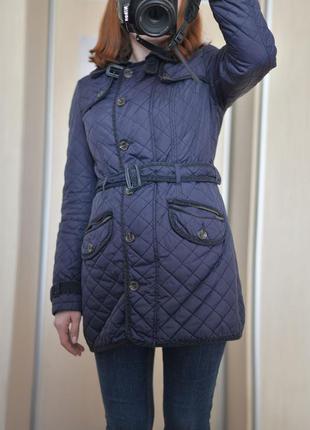 Демисезонное стеганое пальто next