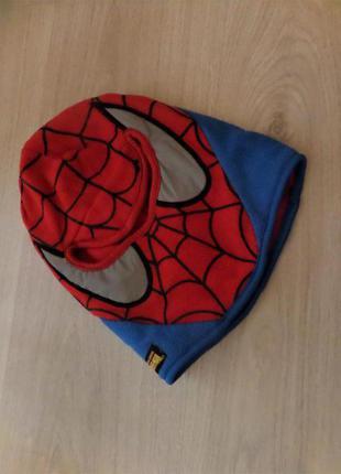 Шапка-шлем marvel на обхват 42-44 см