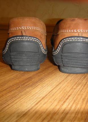 Мягусенькие кожаные туфли, мокасины женские for davide cenci р. 38 стелька 24,5 италия5 фото