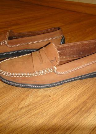 Мягусенькие кожаные туфли, мокасины женские for davide cenci р. 38 стелька 24,5 италия