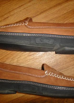 Мягусенькие кожаные туфли, мокасины женские for davide cenci р. 38 стелька 24,5 италия4 фото