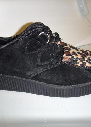 Мокасины, туфли, слипоны женские spot on р.37 - 38 стелька 23,5 -24 см, легкие