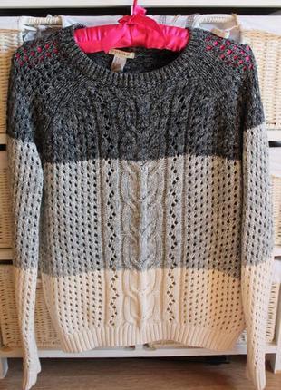 Натуральный свитер forever 21