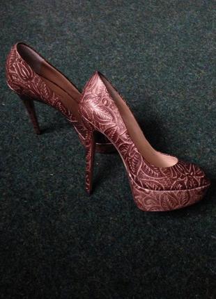 Туфли из кожи mascotte