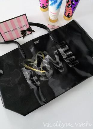 Роскошная сумка оверсайз, шопер victoria's secret. оригинал. сша. victorias secret