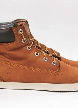 Ботинки timberland оригинал, кожаные хайтопы 40-41 размер сапоги, кеды