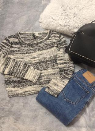 Кроп свитер h&m