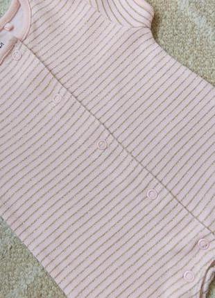 Sale! красивейший ромпер песочник комбинезон next для новорожденных и недоношенных детей1 фото