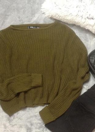 Кроп свитер new yorker
