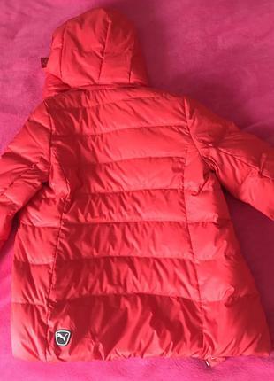 Puma куртка оригінал червона спортивна