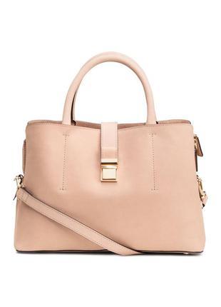 Премиум качества кожаная сумка h&m