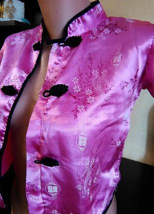 Накидка в китайском стиле . пиджак