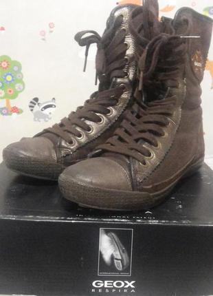 Сапоги-ботинки geox 37р