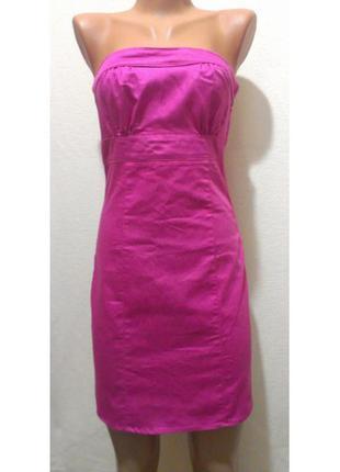 """Платье-бюстье ярко-розового цвета """"h&m"""""""