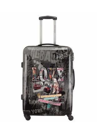 Большой чемодан на колесах david jones 2017