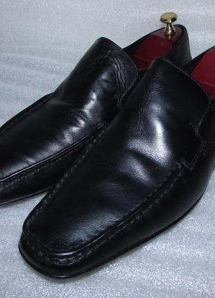 Мужские английские  кожаные туфли ~ f&f ~ новые р 43