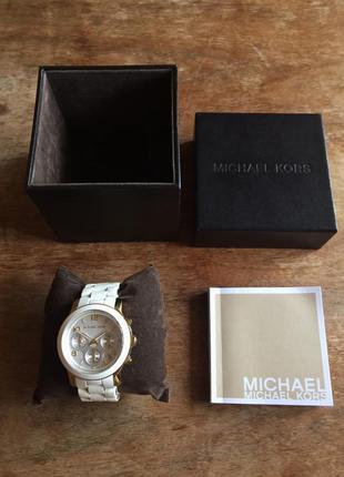 Часы michael kors оригинал каучук очень стильные