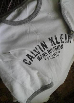 Оригинал! футболка calvin klein, р.s