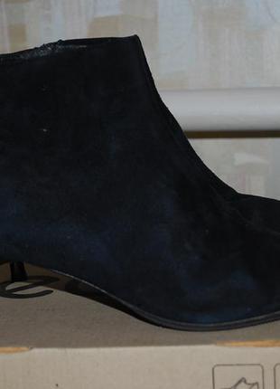 L.k bennett ботинки замшевые