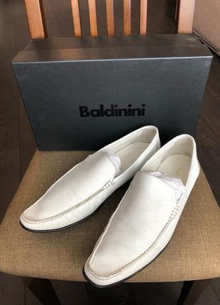 Мокасины туфли baldinini оригинал италия кожа новая коллекция будьте стильными!