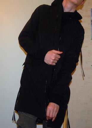 Черный удлиненный бомпер zara