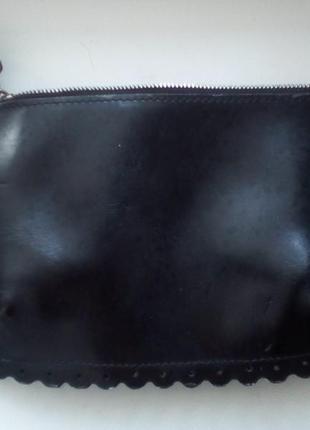 Косметичка, клатч, кошелёк из натуральной кожи furla оригинал