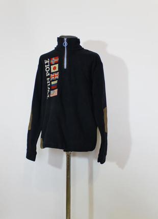 Теплая флисовая кофта, джемпер, свитер, свитшот от napapijri на 10 лет