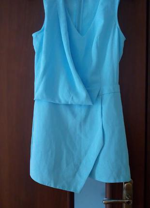 Ромпер небесно голубого кольору фірми miss selfridge