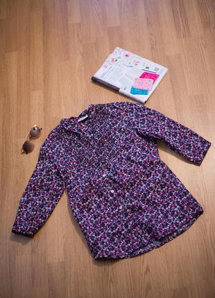 Очень нежная блузка с цветочным принтом benotti