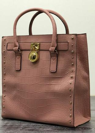Стильная сумка с имитацией крокодиловой кожи.  as18071  *one size