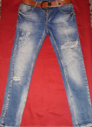 Стильні джинси бойфренди від dsquared