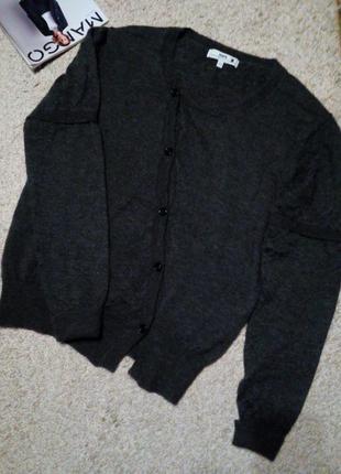 Hope швеция стильный, неординарный мохеровый кардиган/свитер