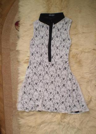 Кружевне плаття/платье с кружевом